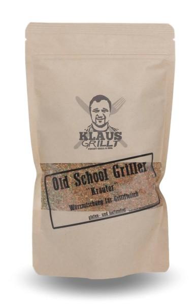 Klaus Grillt Old School Griller Kräuter 200g Beutel