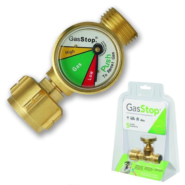 GasStop - Notabschaltung - mit Füllstandsanzeige - 100% Abschaltung