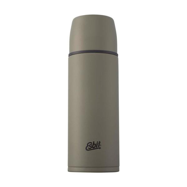 ESBIT Edelstahl Isolierflasche, 0.75, Olivgrün