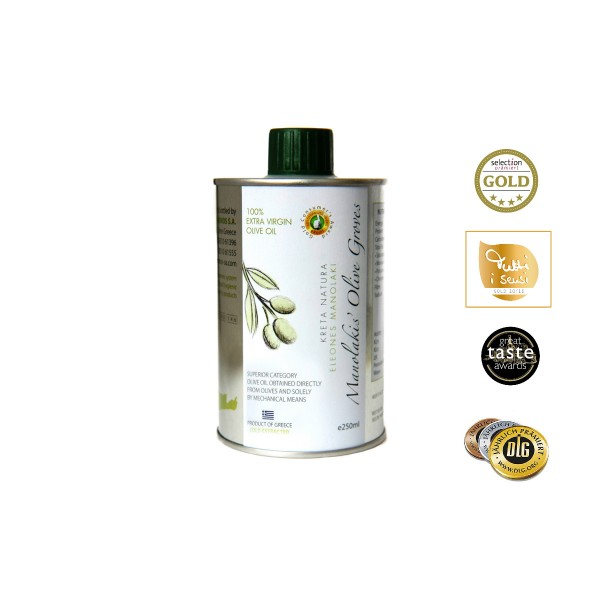 KretaNatura 250 ml  Extra Natives Olivenöl aus Kreta