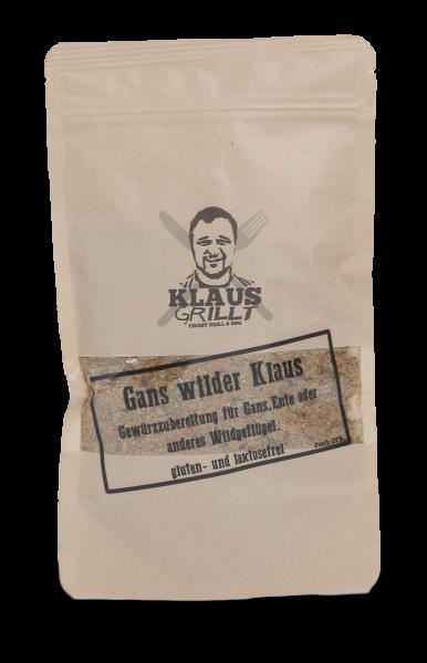Klaus Grillt Gans wilder Klaus 100g Beutel