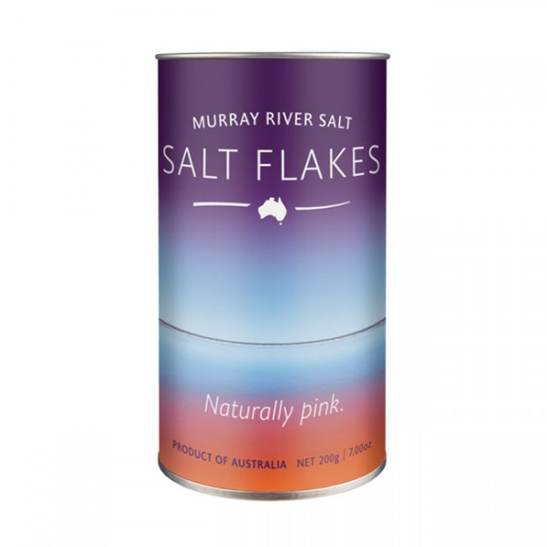 Murray River Salt Flakes - 200g Dose - feines Fingersalz / Flockensalz