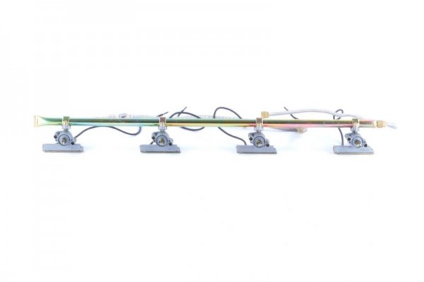 CADAC Ersatzteil - MERIDIAN /TITAN - 4-Brenner Verteiler mit Gashahn 50mbar - 98512-SP018-50