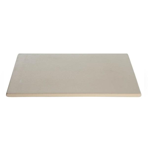 Pizzastein, rechteckig 41 x 36 x 1,5 cm - Cordierit Backstein