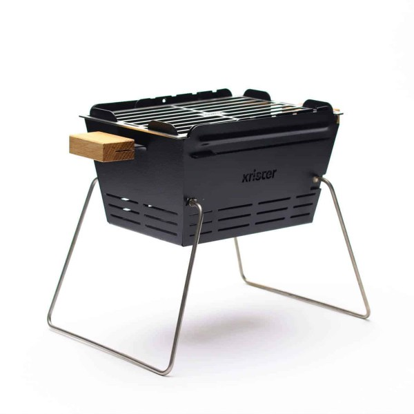 KNISTER Grill small - mobiler Holzkohlegrill - MADE IN GERMANY