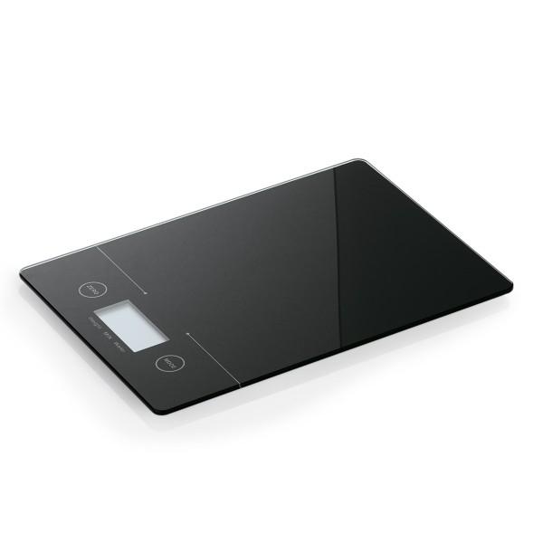 Digitalwaage Glas - bis 5kg - Unterteilung 1g - Abschaltautomatik - 19,5 x 14 x 1,5cm