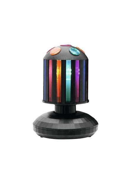 Bunter Party Lichteffekt - LED - drehender Cylinder