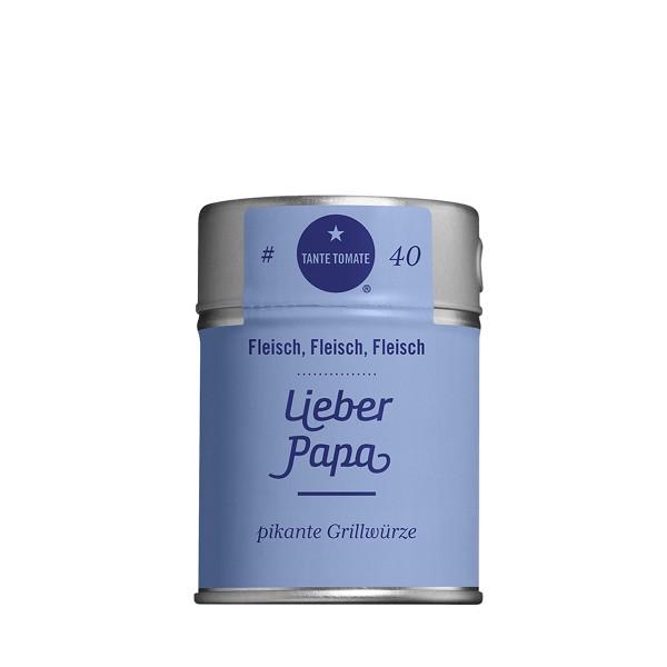 Lieber Papa - Gewürzzubereitung - Für Fleisch, Fleisch, Fleisch - 50g Streuer