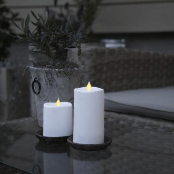 LED-Kerze | Glim | mechanisch bewegte Flamme | ↑8,5cm
