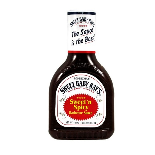 Sweet Baby Ray's - Sweet 'n Spicy - BBQ Sauce - 510g