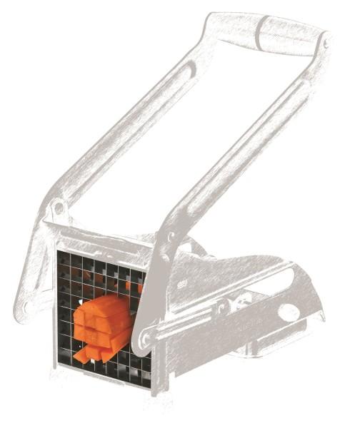 GEFU CUTTO Pommes- und Gemüseschneider Messereinsatz 9x9mm - 64 Quadrate