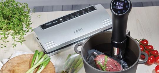 SousVide Kochen und Garen - Schonende Zubereitung von Speisen im Wasserbad.