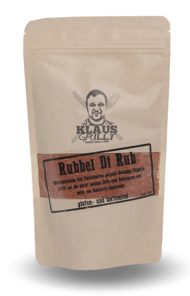 Klaus Grillt Rubbel Di Rub 250g Beutel