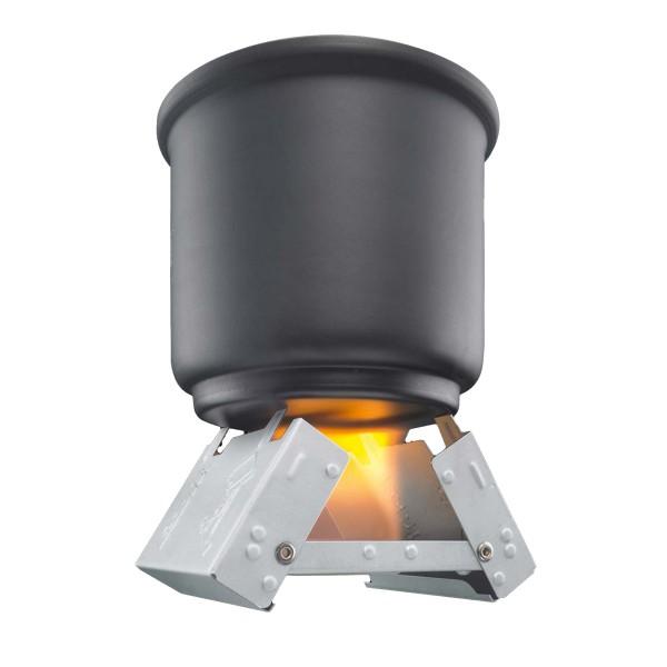 """ESBIT Taschenkocher """"Klein"""" - Inkl. 20x4g Brennstoff - klappbar - leicht - robust"""