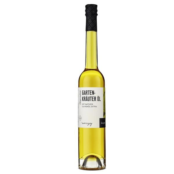 Wajos Gartenkräuter Ölzubereitung - Olivenöl mit Aroma - 100ml Flasche
