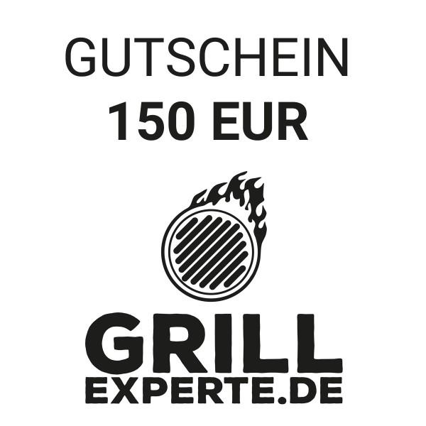 GRILL-EXPERTE.de GUTSCHEIN 150 EUR Warenwert