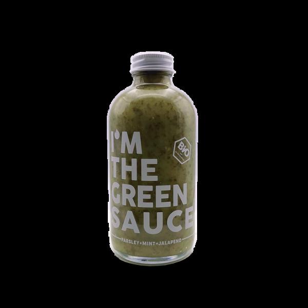 THE GREEN SAUCE - HAWT Chili Manufaktur - Bio Sauce mit Petersilie, Minze und Chili - 250ml