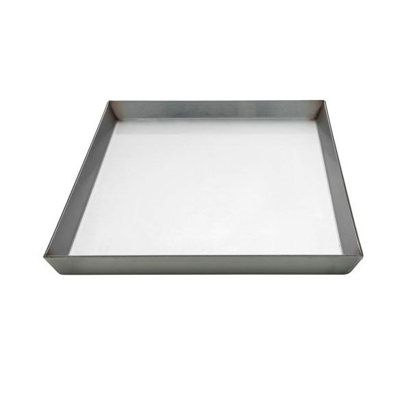 ALL'GRILL Edelstahl Kochplatte/-wanne 35 x 46 x 2cm