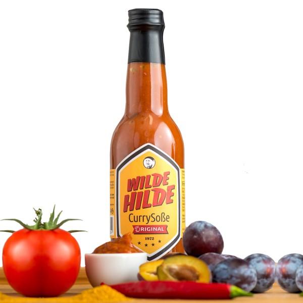 "Wilde Hilde ""Currysauce Original"" - 330ml - auf Pflaumenbasis"