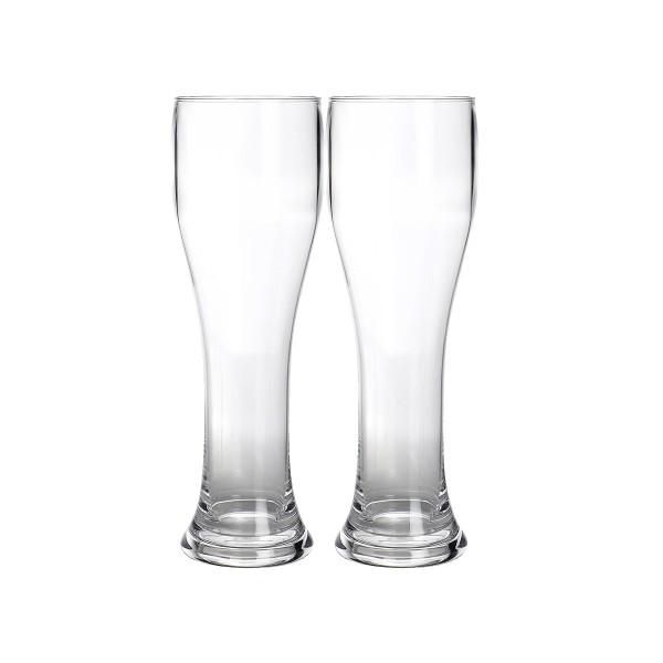 2 x Weizenbierglas aus bruchfestem Polycarbonat - 650ml