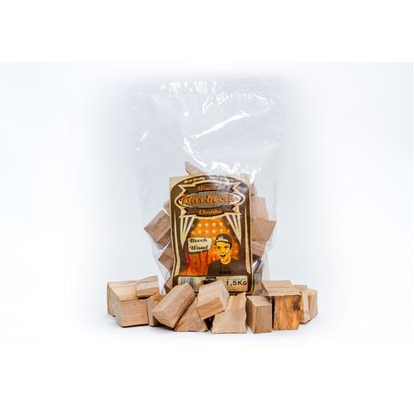 Axtschlag Wood Chunks Beech-Buche 1,5 Kg