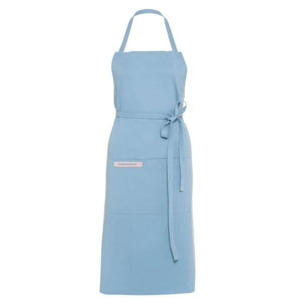 Feuermeisterin Premium Textil Back- und Kochschürze Blau mit 2 Taschen
