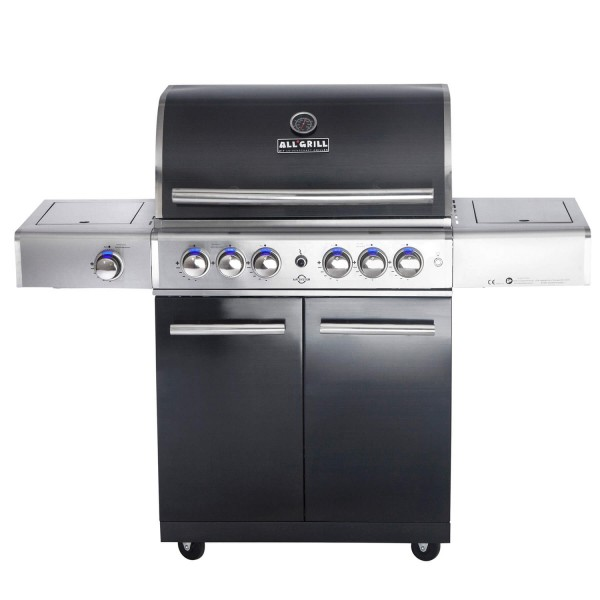 """ALL'GRILL TOP-LINE - CHEF L"""" mit Air System"""" - Black Edition"""