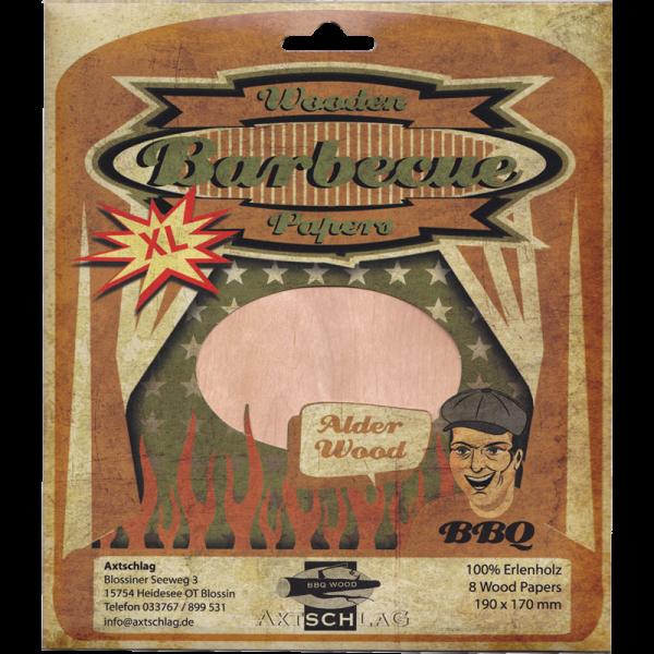 Axtschlag Wood Paper Adler-Erle 8er Pack