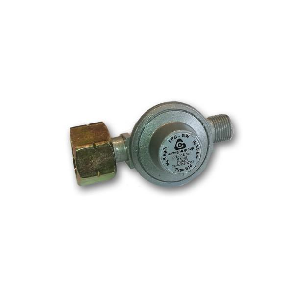 "Druckgasregler HP 1703.9/15 - 8kg/h - 1,5bar, Kombi x G 3/8"" LH-KN"