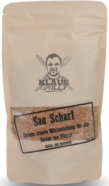 Klaus Grillt Sau Scharf Rub 200g Beutel