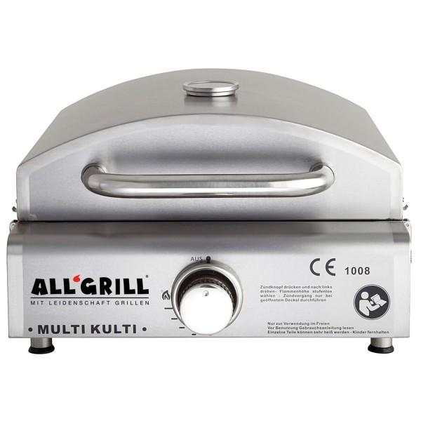 ALL'GRILL MULTI-KULTI mit Steakzone-Keramikbrenner und Zündsicherung