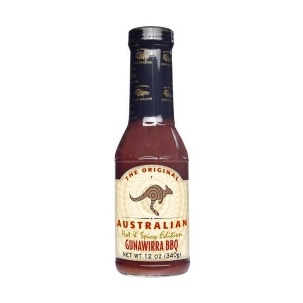 The Original Australian Gunawirra BBQ Sauce 355ml leichte Würze & dezentes Raucharoma