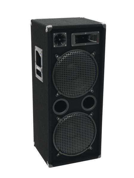 """Robuste Full-Range-Box mit 2x12"""" Tieftöner und 1000 Watt Leistung DX-2222"""