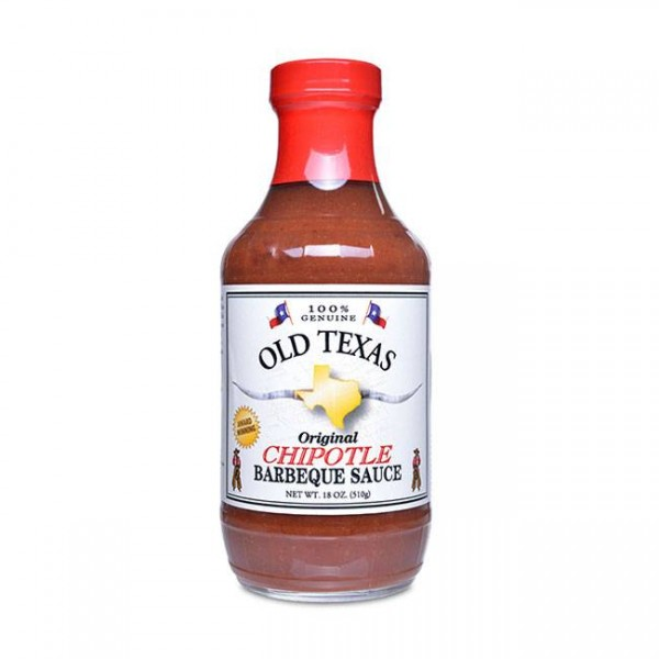 Old Texas Chipotle BBQ Sauce 455ml Grillsauce im Texan Style