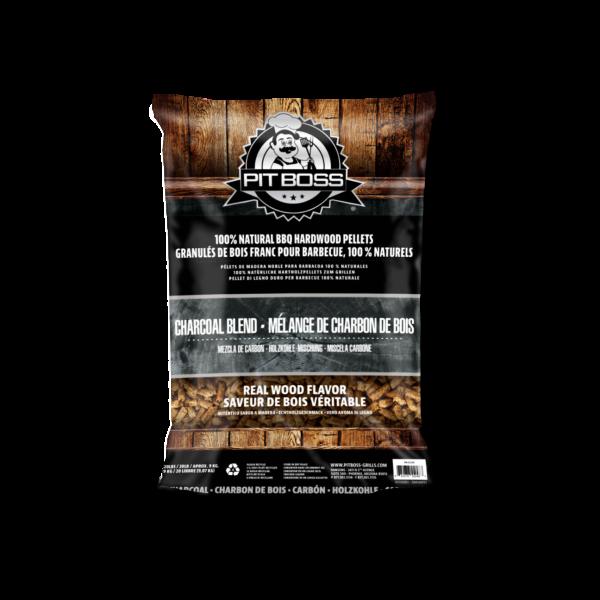 Pellet 'GRILL FUEL' - 9kg Sack - Charcoal - Holzkohle (vorverkohlt)