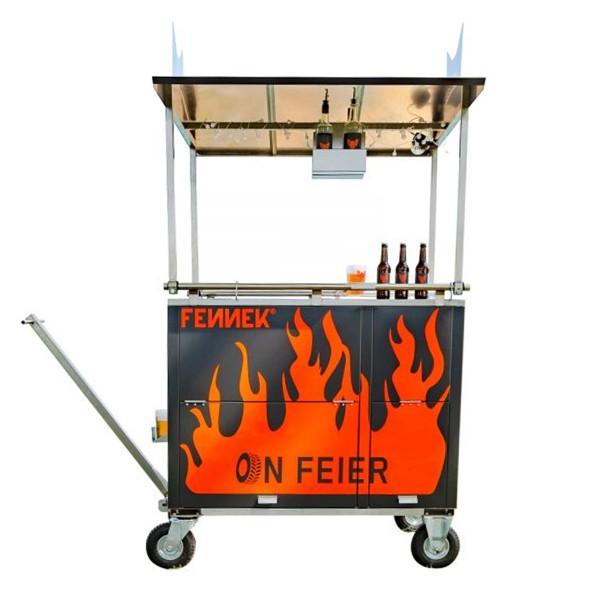 FENNEK - PARTY BOLLERWAGEN - mobile Grillstation - Party Komplett KIT