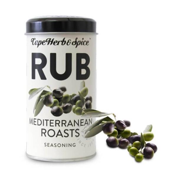 Cape Herb & Spice Rub Mediterranean Roasts - 100g Gewürzsalz  mit klassischen Kräutern