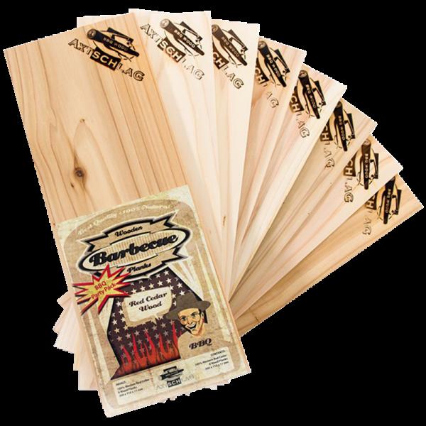Axtschlag Wood Planks Western Red Cedar BBQ Parts Pack 300 x 111 x 11