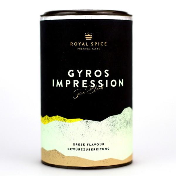 Royal Spice - GYROS Impression - typisch griechische Gewürzmischung, 120g Dose