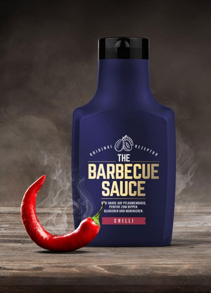 THE BARBECUE SAUCE - Sweet Chili - auf Pflaumenbasis - 390g Flasche