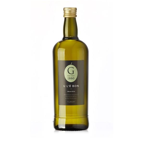 GUIDO1860 - Mildes Olivenöl U L'È BON 1 Liter