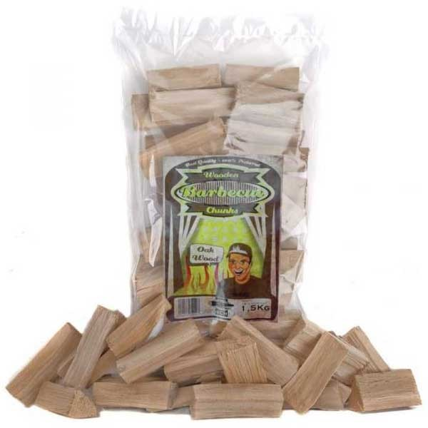 Axtschlag Wood Chunks Oak-Eiche 1,5 Kg
