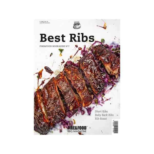 Best Ribs - Fire&Food Bookazine - Rippchen in allen Varianten - 118 Seiten