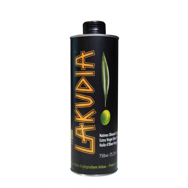 Lakudia 750mL BIO Olivenöl Nativ Extra,  Metalldose