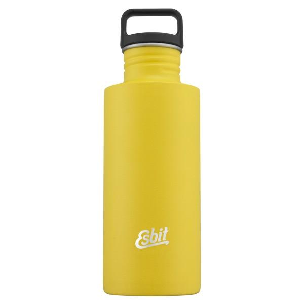 ESBIT SCULPTOR Edelstahl Trinkflasche, 0.75L, Sunshine Yellow