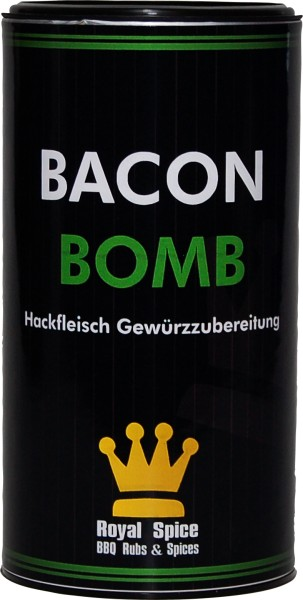 Royal Spice Bacon Bomb, 240g Dose für Hackfleisch