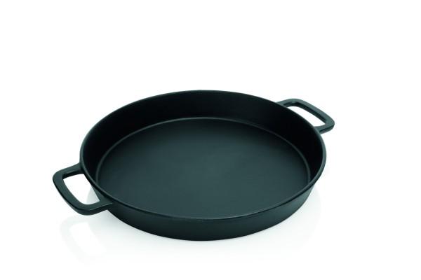 Gusspfanne - GIANT - 50cm - aus schwerem Eisenguss - perfekt für den Grill